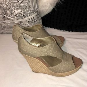 ~Vintage~Seychelles~from VS ~Jute Sexy Wedge~